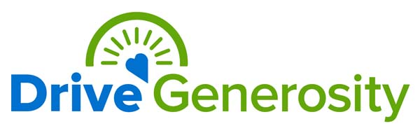 drive generosity logo and website link